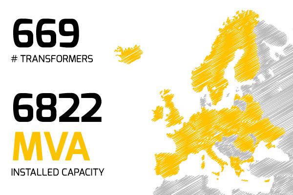 Specialtrasfo presence in Europe
